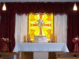 St. Teresa Church has a Perpetual Adoration Chapel